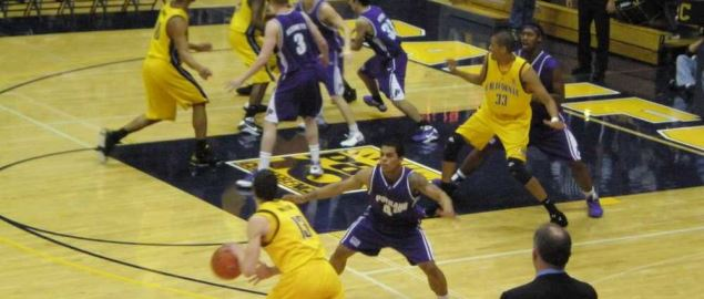 The California Golden Bears vs. the Portland Pilots.