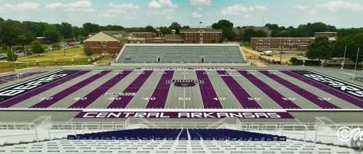 Central Arkansas Bears Stadium in Conway AR.