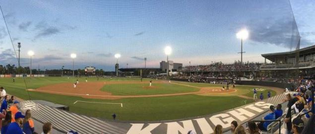 UCF hosts Florida on March 6, 2018 at John Euliano Park.