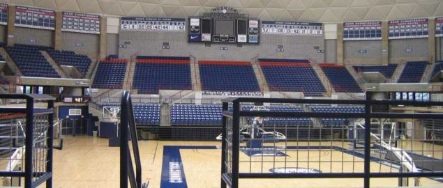 Football & Basketball Facilities UCONN Arena