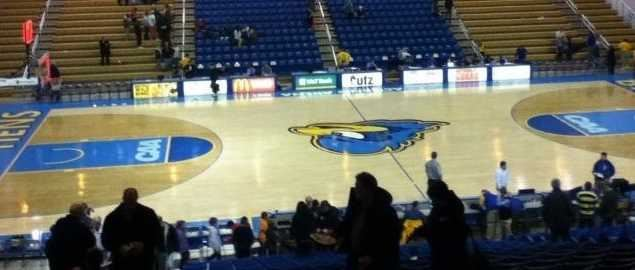 The Bob Carpenter arena after a 2012 Delaware game.
