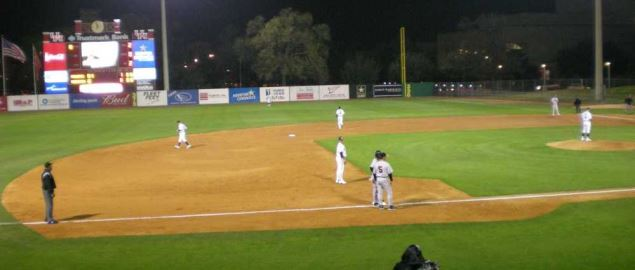 The Houston Cougars baseball team versus the Pacific Tigers at Cougar Field.