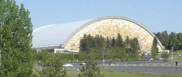 University of Idaho's Kibbie Dome.