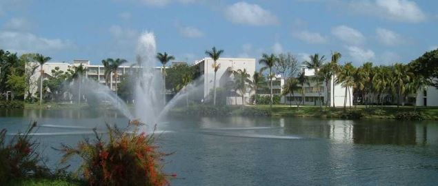 The Coral Gables campus of the University of Miami.