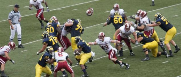 The Michigan Wolverines take on the Indiana Hoosiers.