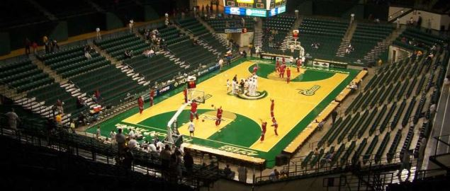 Dale F. Halton Arena, home of the Charlotte 49ers.