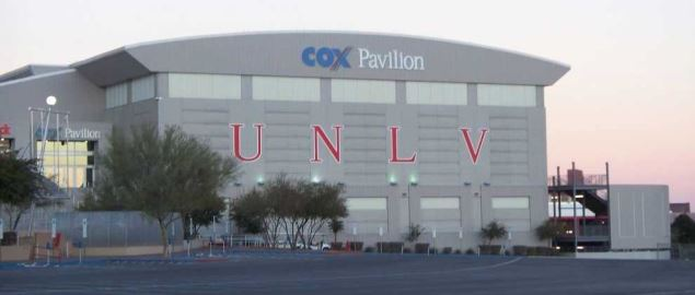 Cox Pavilion on the campus of the University of Nevada, Las Vegas.