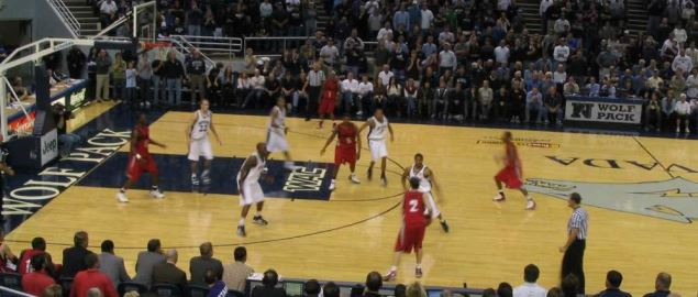The University of Nevada vs. University of Nevada-Las Vegas.
