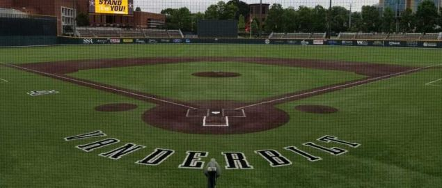 View of Hawkins Field from Home Plate.